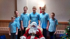 Santa and the Squires 2015