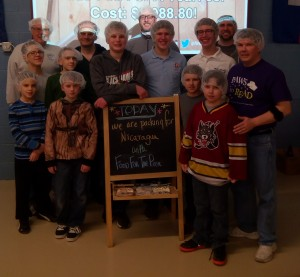 Squires Help Feed My Starving Children Jan. 2016
